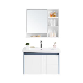 HUIDA 惠达 HDG801-80 现代实木浴室柜组合