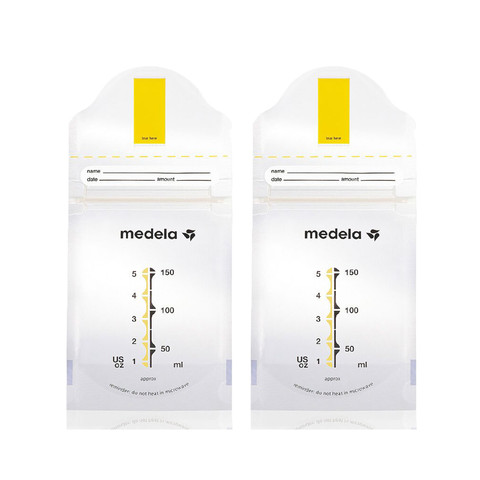 Medela 美德乐 储奶袋母乳储存保鲜袋 150毫升/只 40只 *3件