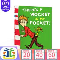 英文原版DR.SEUSS:There's a Wocket in My Pocket苏斯博