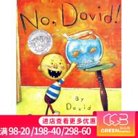 英文原版绘本 No David ! 大卫不可以 系列 凯迪克奖 吴敏兰 绘本图画书
