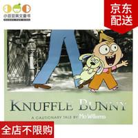 英文原版 Knuffle Bunny: A Cautionary Tale 古纳什小兔:警世故事一则