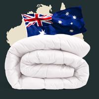 MERCURY 水星家纺 100%澳洲羊毛抗菌春秋被 1.5m床