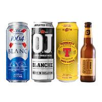 进口精酿啤酒组合 4罐 临期品