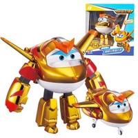 奥迪双钻超级飞侠 变形机器人新款雷克佩佩金小子 变形机器人 *3件
