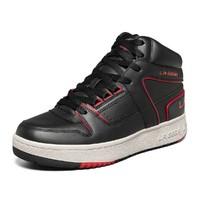 斯凯奇男鞋子X L.A. GEAR联名款中帮运动鞋男士休闲鞋