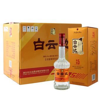 白云边 白酒 五年陈酿 浓酱兼香型 42度 500ml*6瓶