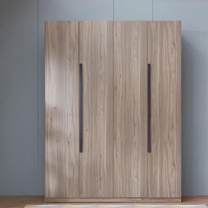 聚划算百亿补贴 : 林氏木业 DV1D 简约现代四门衣柜