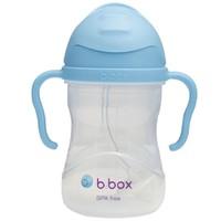 b.box 澳洲 第三代婴儿童吸管水杯 240ml 天蓝色(bbox吸管杯 宝宝重力球学饮杯) +凑单品
