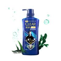 CLEAR 清扬 男士洗发水 运动专研系列 控油冰爽型 500g *4件