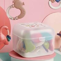 babycare 婴儿手摇铃玩具可咬10件(送收纳盒)
