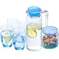 Luminarc 乐美雅 无铅玻璃杯壶套装 5件套