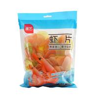 展艺 彩色虾片 500g      *2件