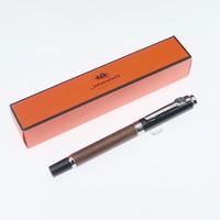 金豪 8802 书法练字木杆钢笔 花梨木 裸笔