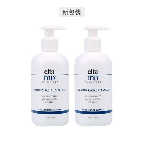 考拉海购黑卡会员:Elta MD 氨基酸泡沫洗面奶 207ml *2件装