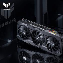 华硕 ASUS TUF-RTX3080-O10G-GAMING 1440-1815MHz 吃鸡电竞游 戏专业独立显卡 可支持4K显示器