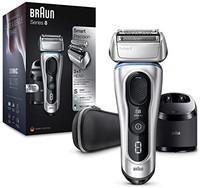 Braun 博朗 8 系列 8390cc 新一代电动剃须刀 可充电的无线剃须刀 充电底座