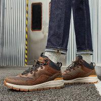 SKECHERS 斯凯奇 66259 男款缓震回弹工装靴