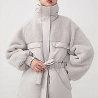 H&M 0913233 女装棉衣棉服