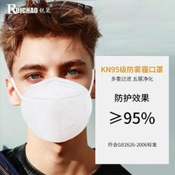 防尘囗罩kn95口罩n95防工业粉尘透气立体防尘口鼻罩防护用品