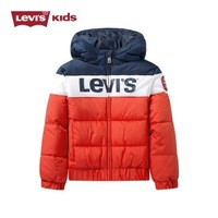Levi's 李维斯 男童双色连帽棉服
