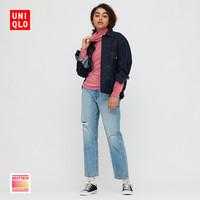 UNIQLO 优衣库 428327 女装摇粒绒两翻领套头衫