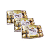 FERRERO ROCHER 费列罗 巧克力 30粒*3盒