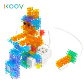 索尼(SONY)KOOV可编程教育机器人 益智 儿童玩具 礼品 STEAM课件 豪华版