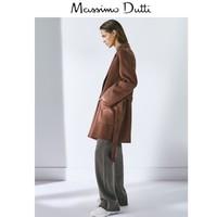 Massimo Dutti 6464924 女士毛呢手工制羊毛大衣