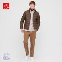 UNIQLO 优衣库 429280 男装高级轻型羽绒茄克
