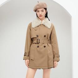 Eifini 伊芙丽  1BA960611 女款风衣外套