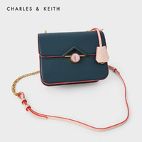 CHARLES & KEITH 80781269 女款吊牌饰链条单肩包