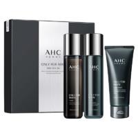 AHC 男士烟酰胺护肤套盒 3件套(洗面奶140ml+爽肤水120ml+乳液120ml)
