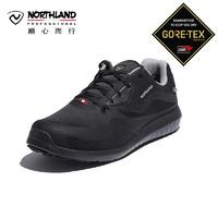 诺诗兰户外男GORE-TEX防水耐磨缓震低帮徒步鞋FT995020