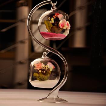 MOHO-ZOOM 贸号 双悬挂玻璃水晶花瓶 *2件