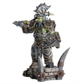 BLIZZARD 暴雪  魔兽世界 萨尔雕像