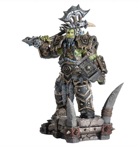 BLIZZARD 暴雪 拯救世界的大酋长,暴雪《魔兽世界》萨尔雕像