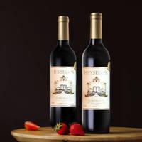 赫辛森 波尔多干红葡萄酒 750ml*6瓶