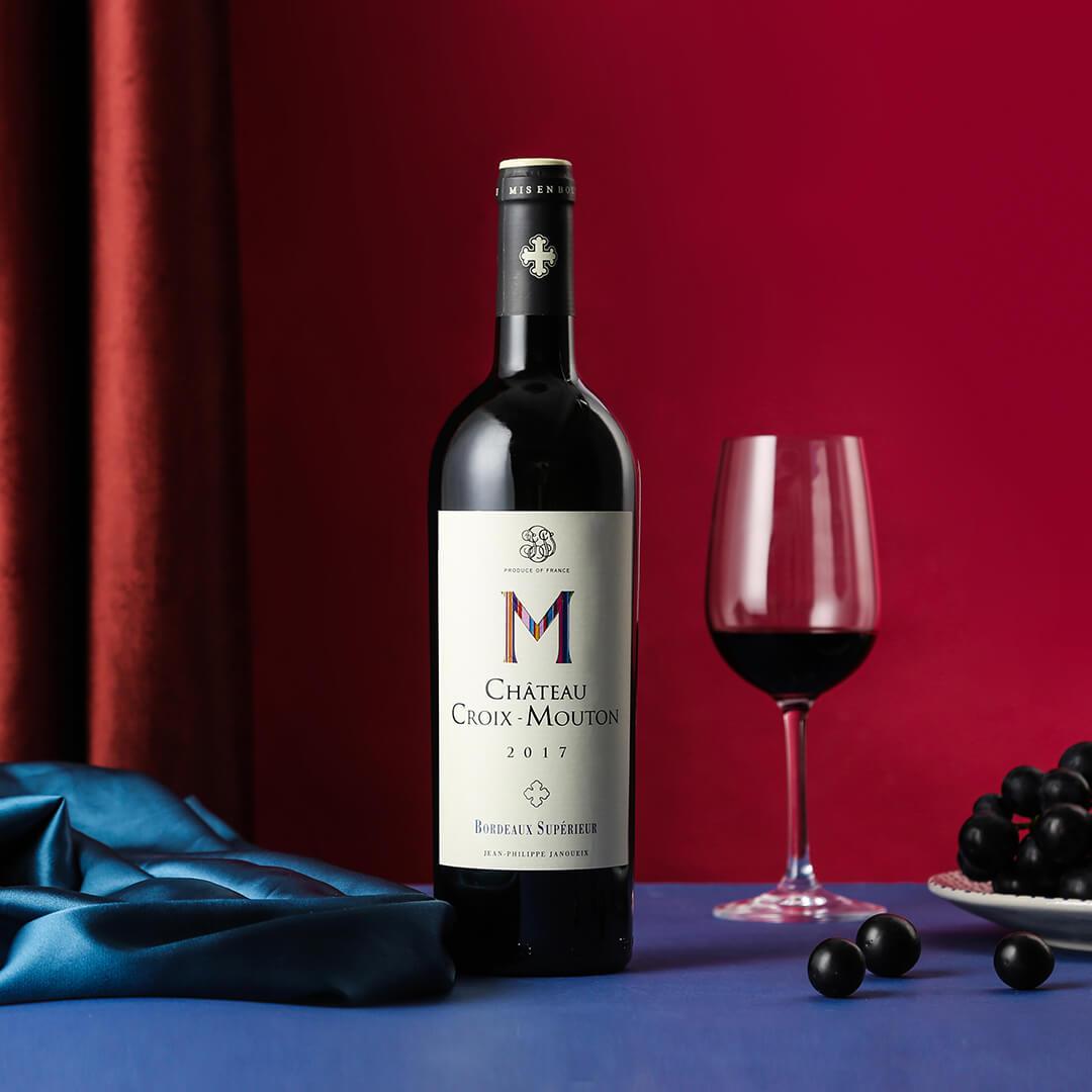 十字木桐城堡 干红葡萄酒2017 750ml