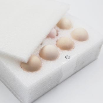 京东PLUS会员 : 晋村 农家土鸡蛋 20枚 *2件