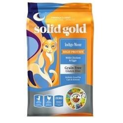 Solid Gold 素力高 进口鸡肉全价猫粮 12磅