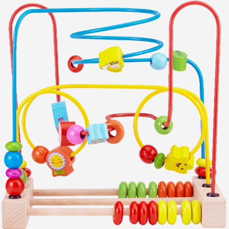 DALA 达拉 木制串珠宝宝玩具