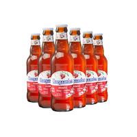 Hoegaarden 福佳啤酒 玫瑰红精酿果味啤酒 248ml*6瓶