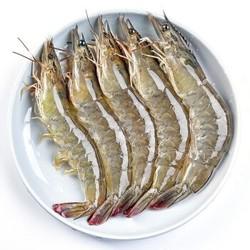 寰球渔市  厄瓜多尔进口白虾4斤盒装 14-17厘米