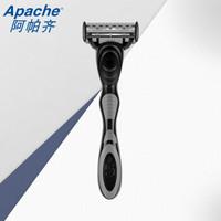 Apache 阿帕齐 5+1层手动剃须刀(1刀架1刀头) *10件