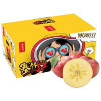 京东PLUS会员:京觅 塞外红 新疆特级阿克苏苹果 果径80-85mm 净重6kg *2件