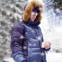 ACOME阿珂姆冬季户外羽绒服男女保暖外套滑雪服 防风雪