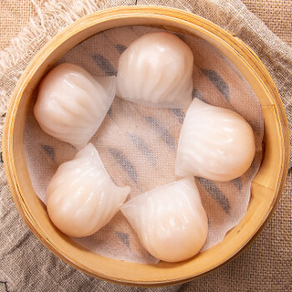好拾味 港式大号水晶虾饺 300g*3袋 *2件