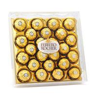 京东PLUS会员:FERRERO ROCHER 费列罗 榛果威化巧克力 24粒 *2件