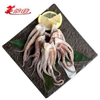 美加佳 冷冻鱿鱼须 1kg 火锅烧烤食材 铁板鱿鱼 海鲜水产 *4件