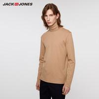 20日0点:JACK JONES 杰克琼斯 219302503 男士高领长袖T恤